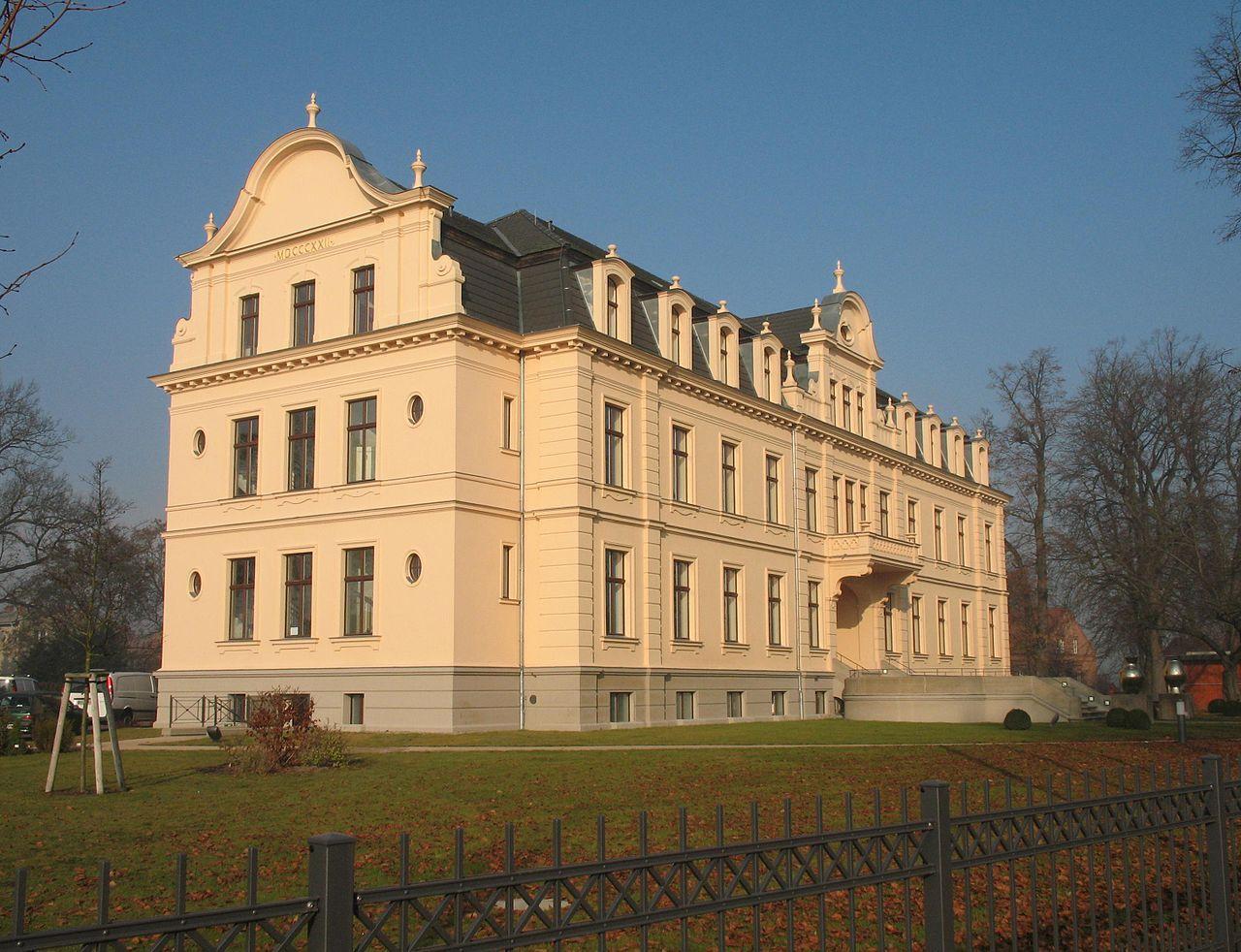 Bild Schloss Ribbeck Nauen