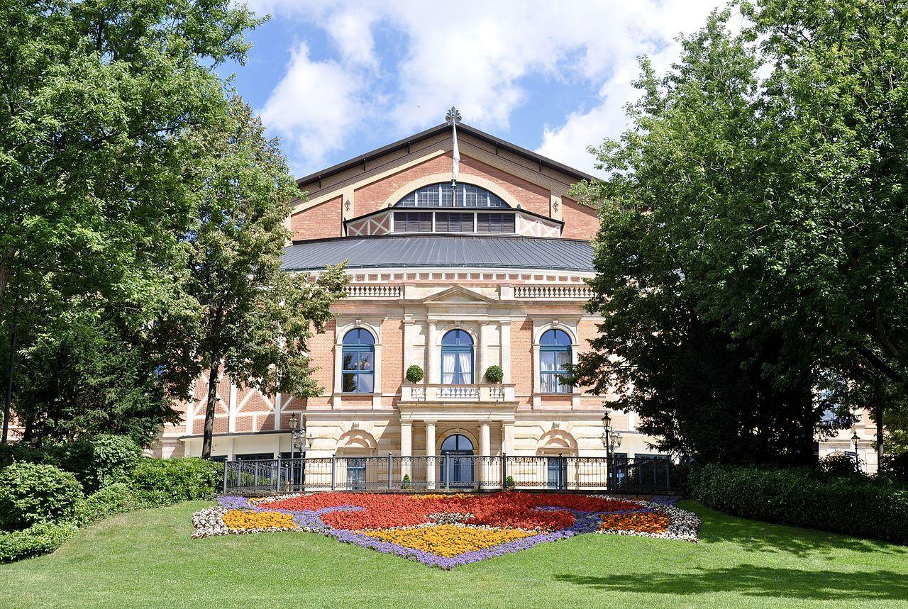 Bild Richard Wagner Festspielhaus Bayreuth