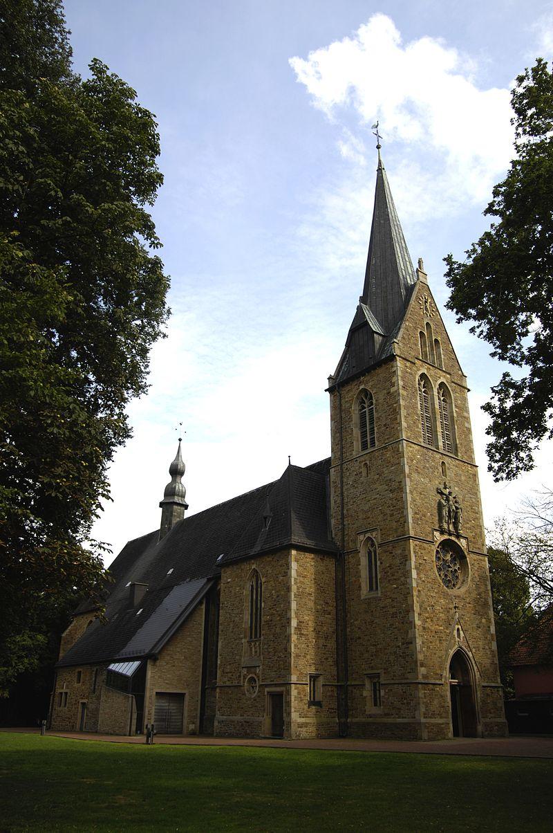 Bild Wallfahrtskirche Rieste Lage