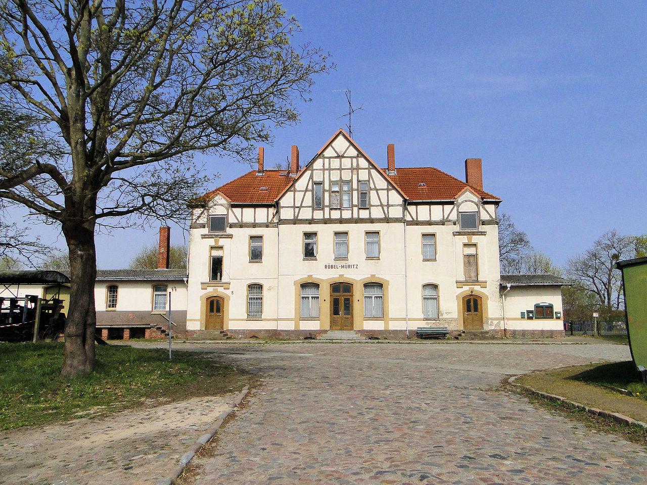 Bild Bahnhofsmuseum Röbel