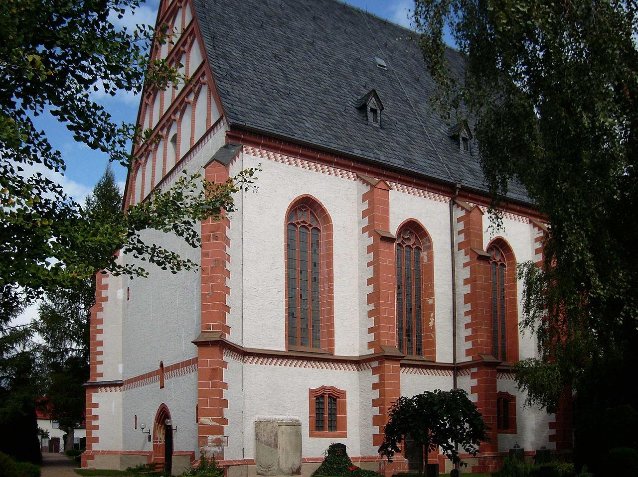 Bild St. Marienkirche Rötha