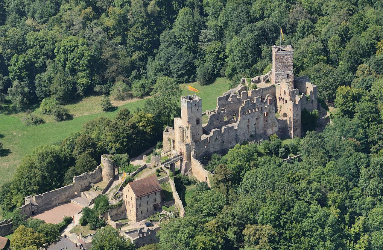 Bild Burg Rötteln Lörrach