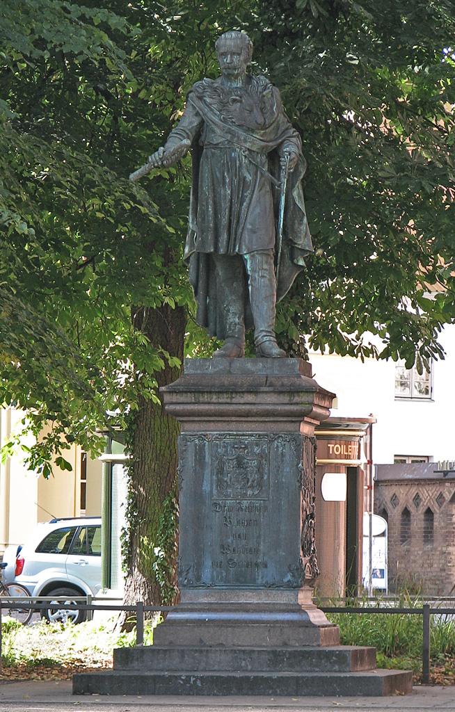 Bild Blücher Denkmal Rostock