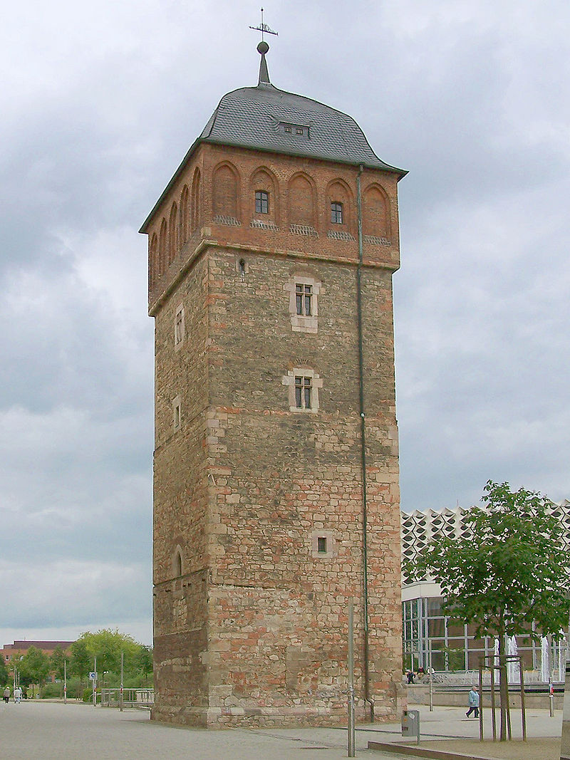 Bild Roter Turm Chemnitz