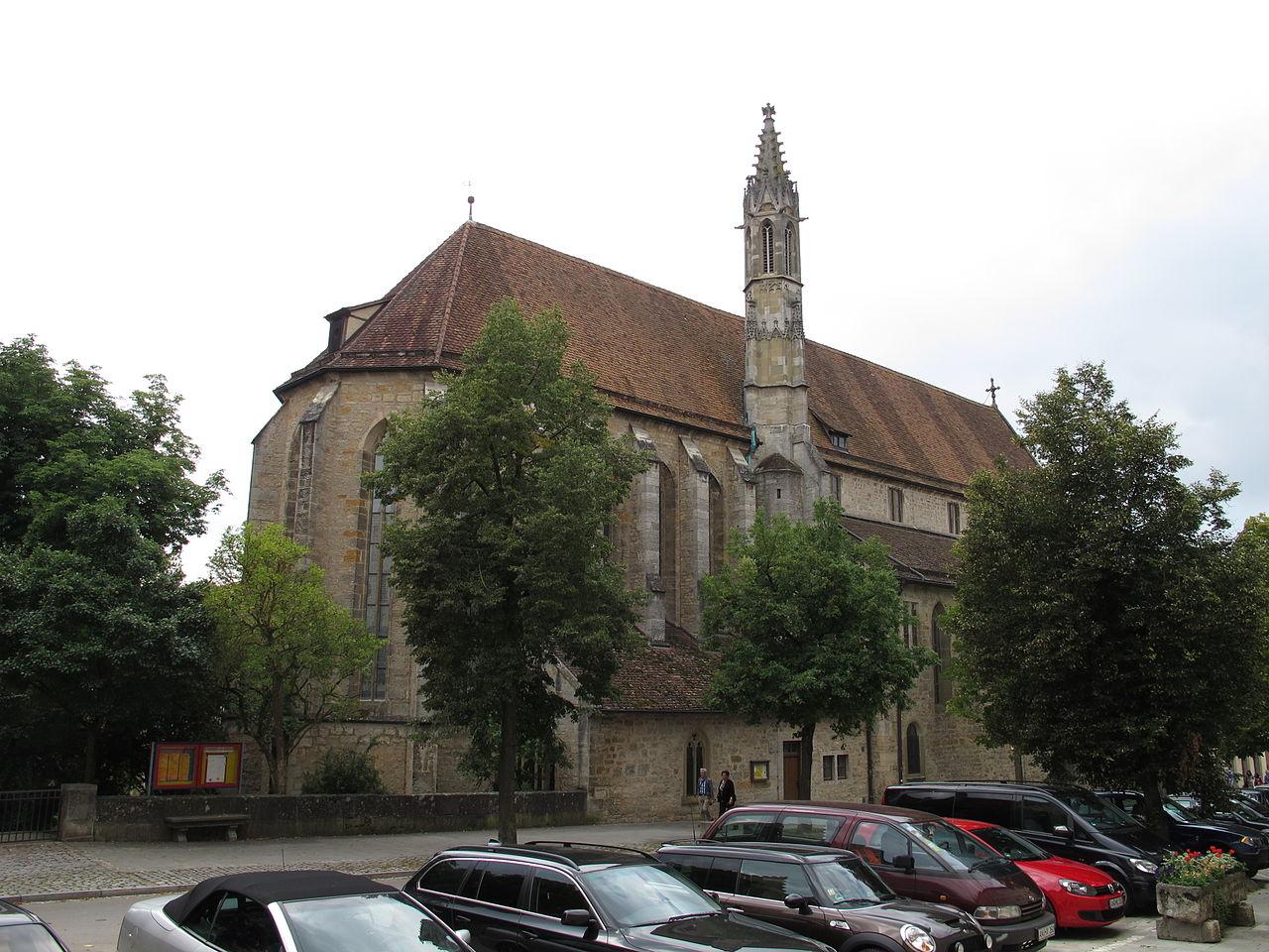 Bild Franziskanerkirche Rothenburg ob der Tauber