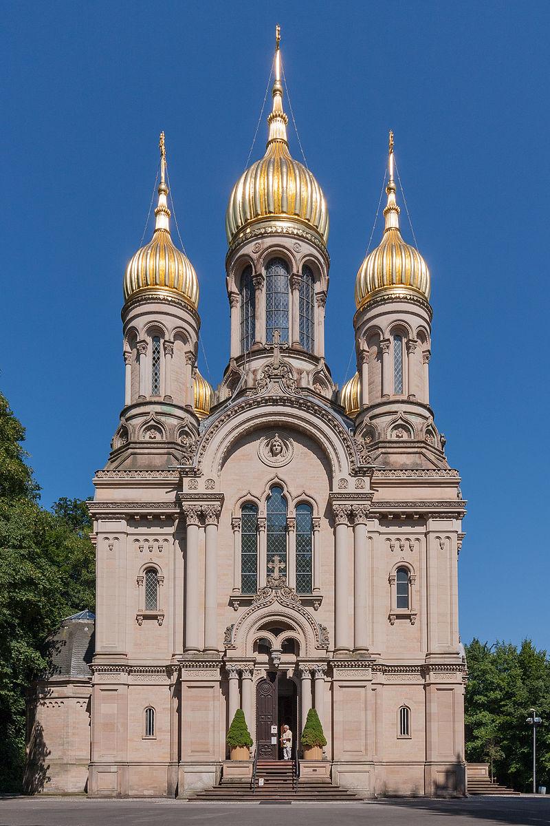 Bild Russische Kirche Wiesbaden