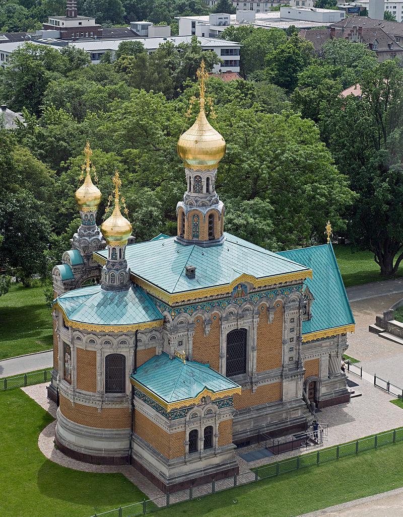 Bild Russische Kapelle Darmstadt
