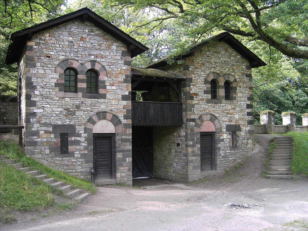 Bild Römerkastell Saalburg – Archäologischer Park