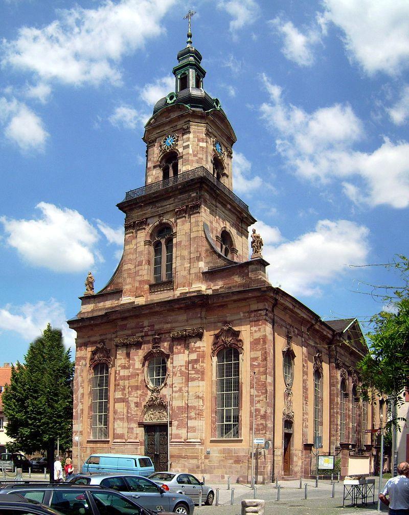 Bild Basilika St. Johann Saarbrücken