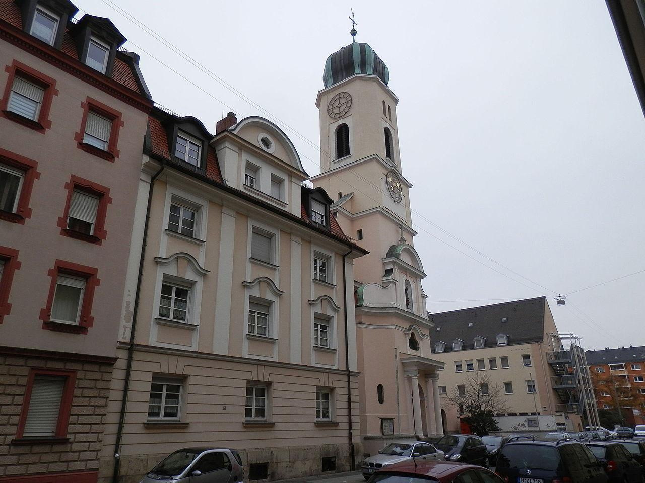 Bild Kirche St. Michael Nürnberg