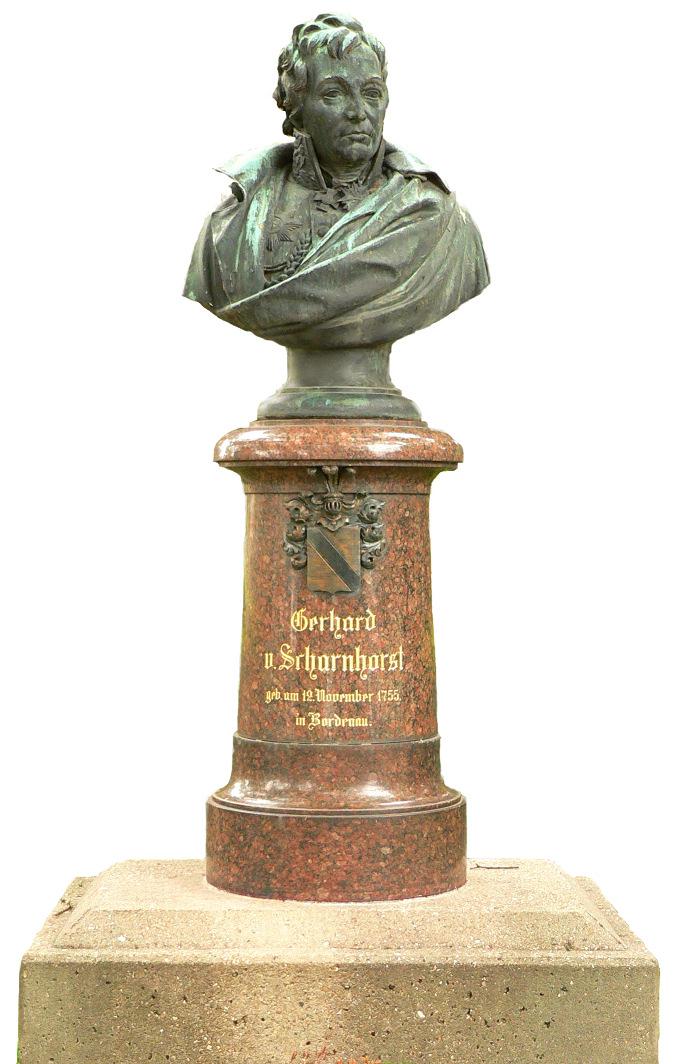 Bild Scharnhorst Denkmal Bordenau