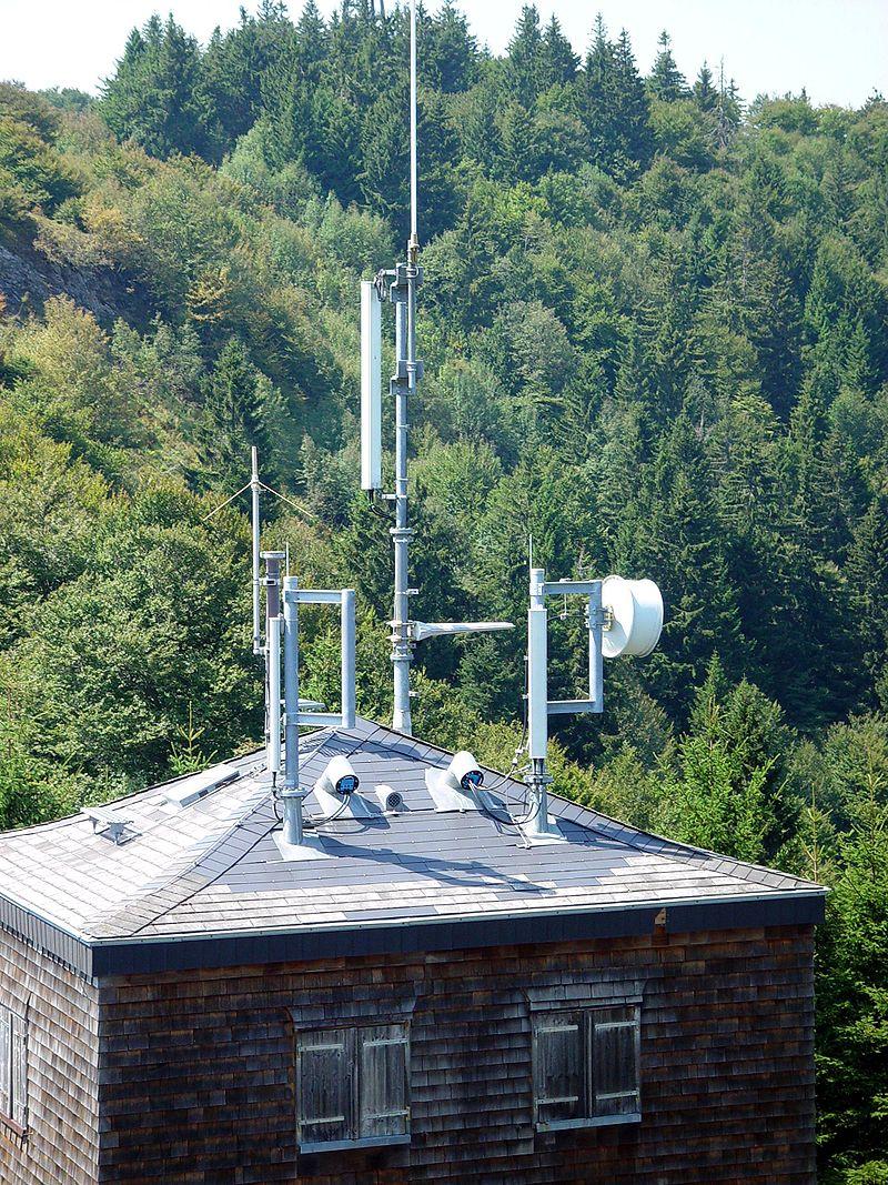Bild Sonnenobservatorium auf dem Schauinsland Oberried