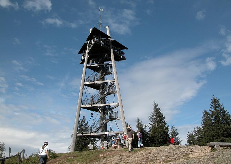 Bild Eugen Keidel Turm Oberried