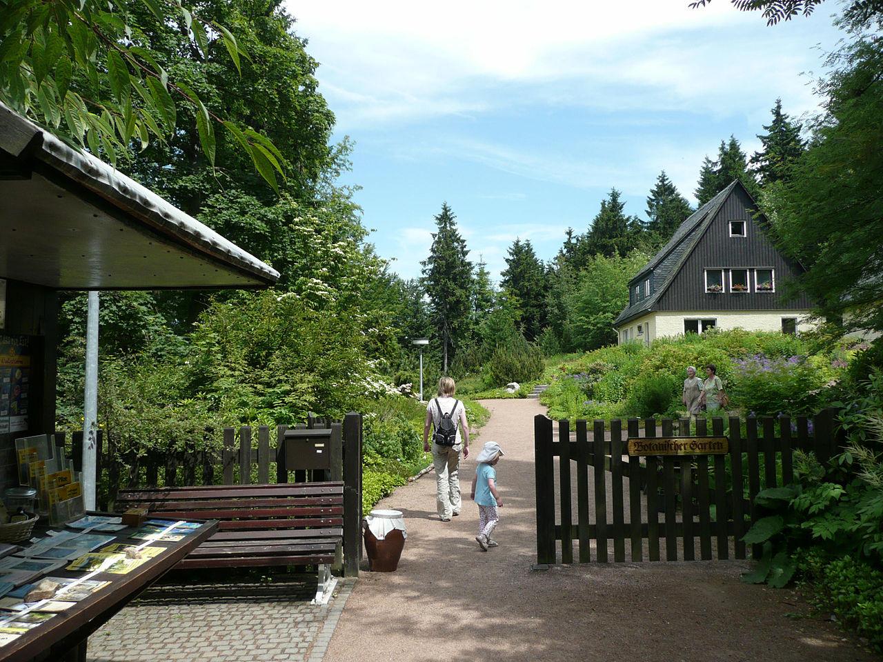 Bild Botanischer Garten Schellerhau