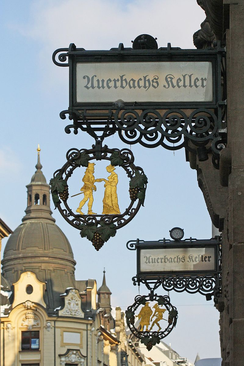 Bild Auerbachs Keller Leipzig
