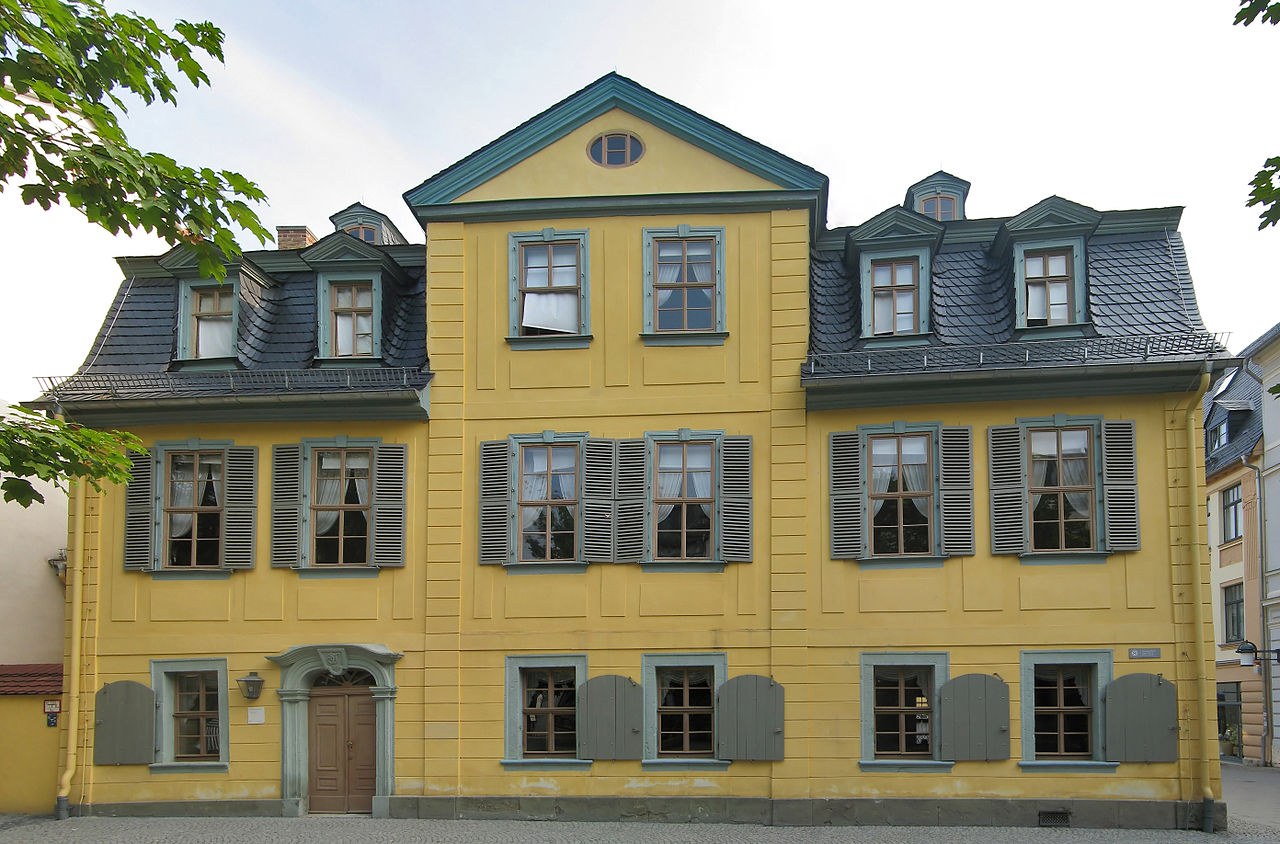 Bild Schillers Wohnhaus Weimar