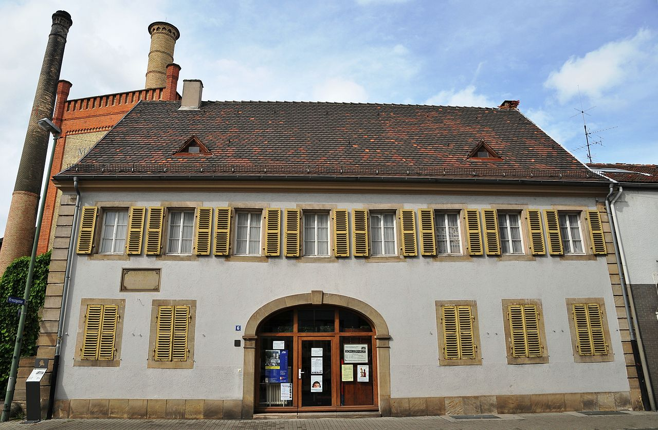 Bild Schillerhaus Ludwigshafen