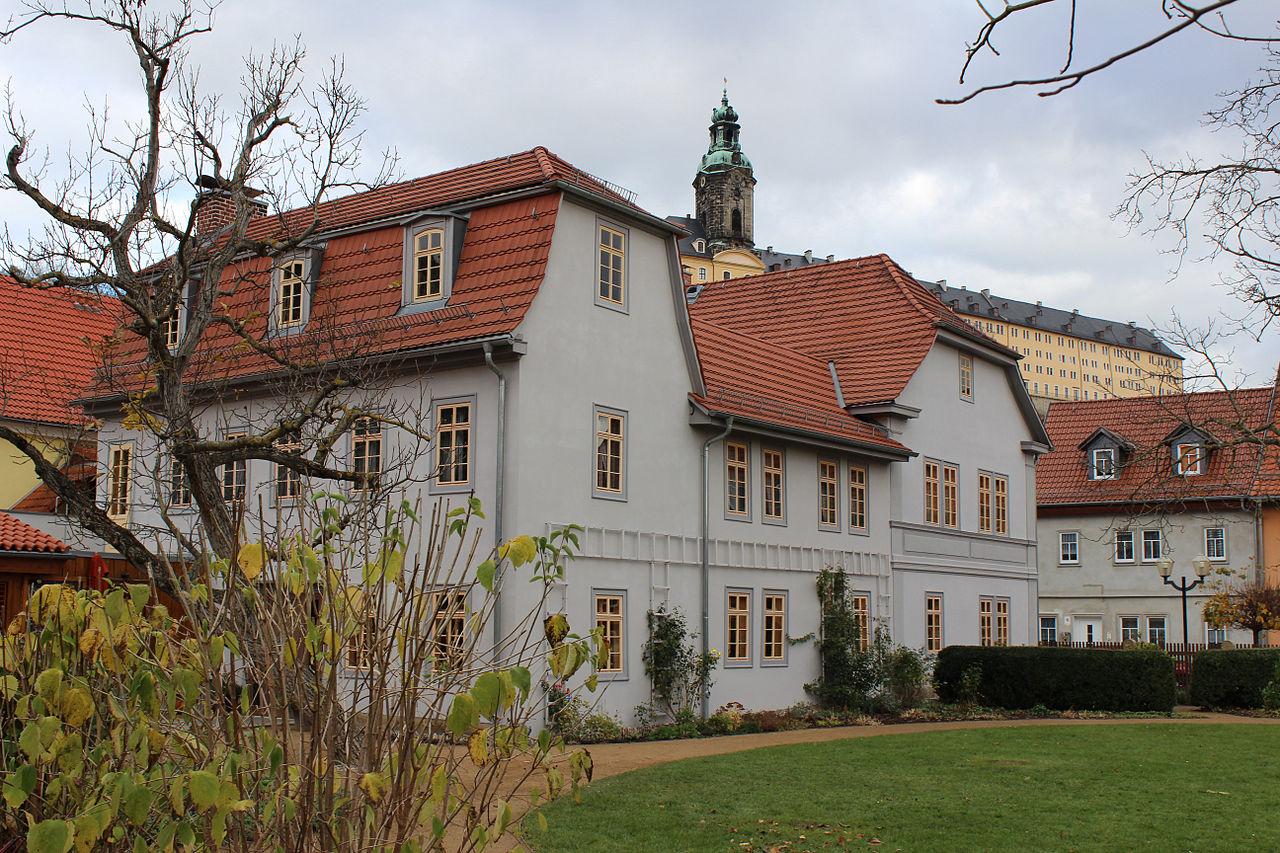 Bild Schillerhaus Rudolstadt