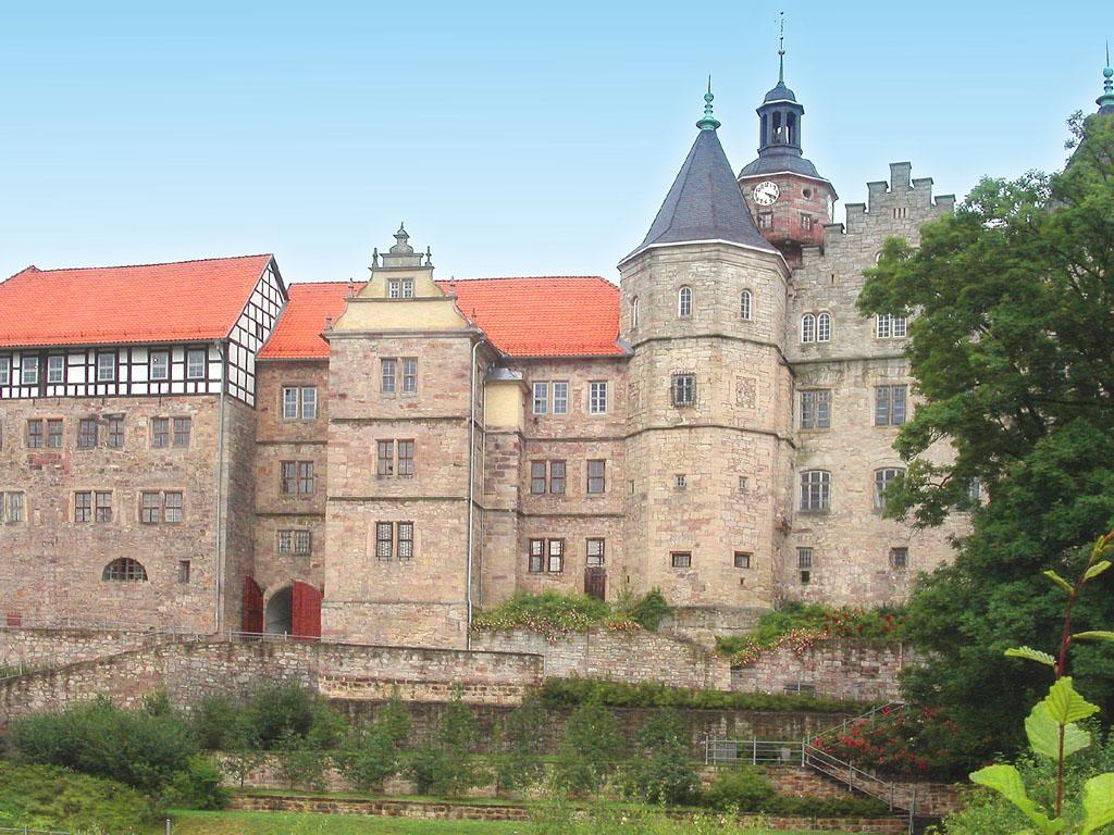 Bild Schloss Bertholdsburg Schleusingen