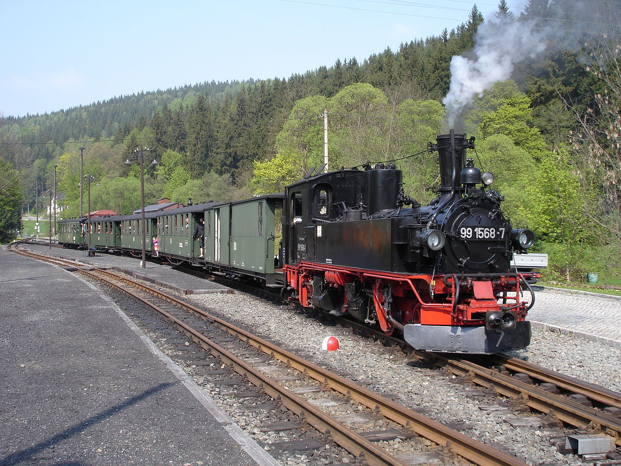 Bild Pressnitztalbahn Jöhstadt