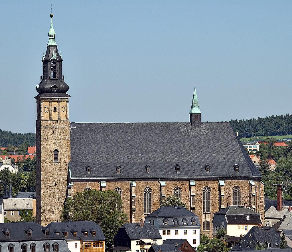 Bild St. Wolfgangs Kirche Schneeberg