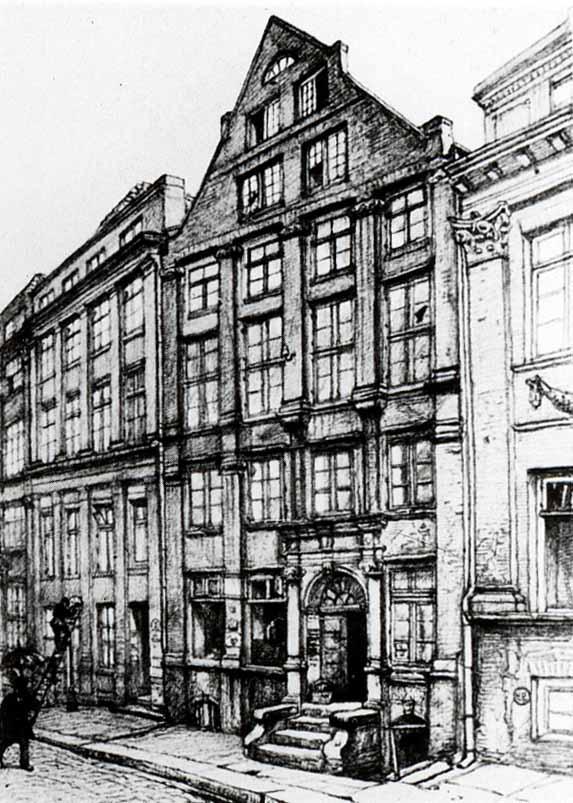 Bild Schopenhauer Wohnhaus Hamburg Speicherstadt