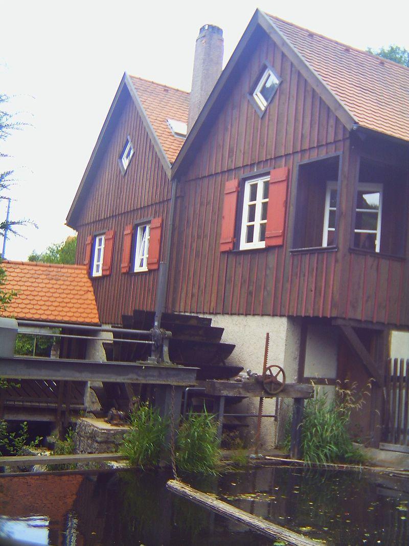Bild Schüttesäge Museum Schiltach