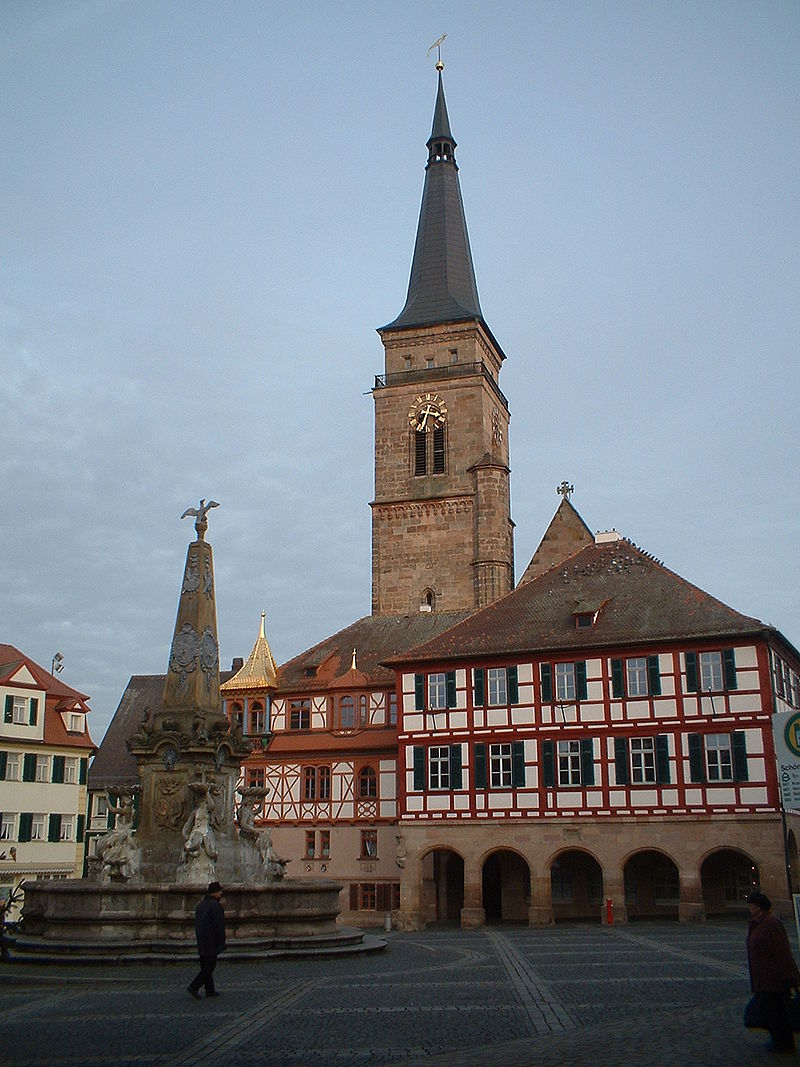 Bild Stadtkirche Schwabach