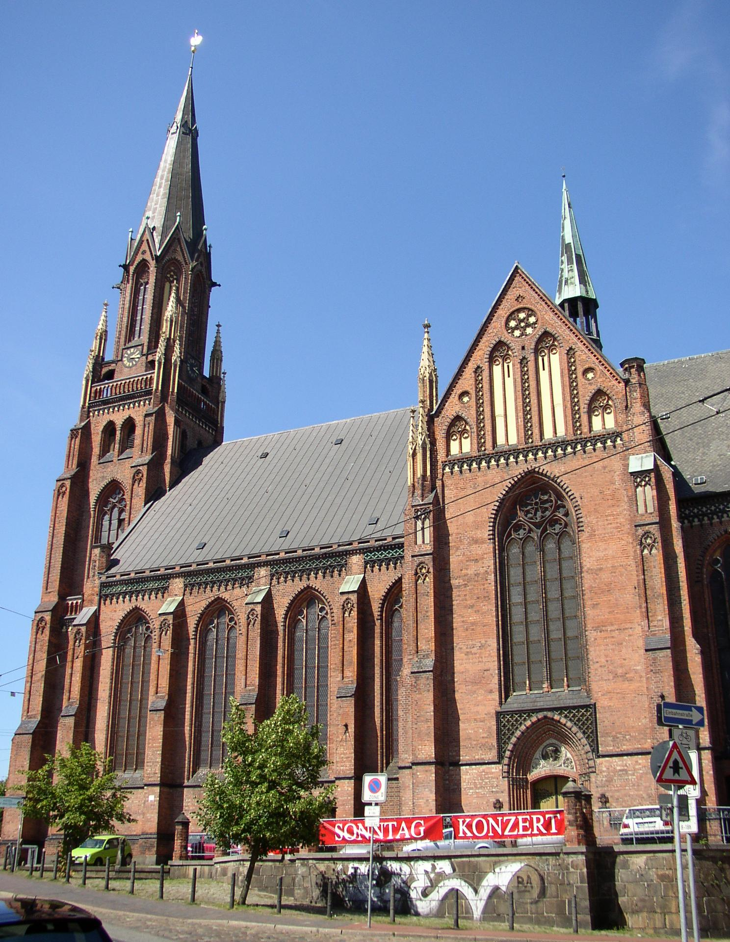 Bild Paulskirche Schwerin
