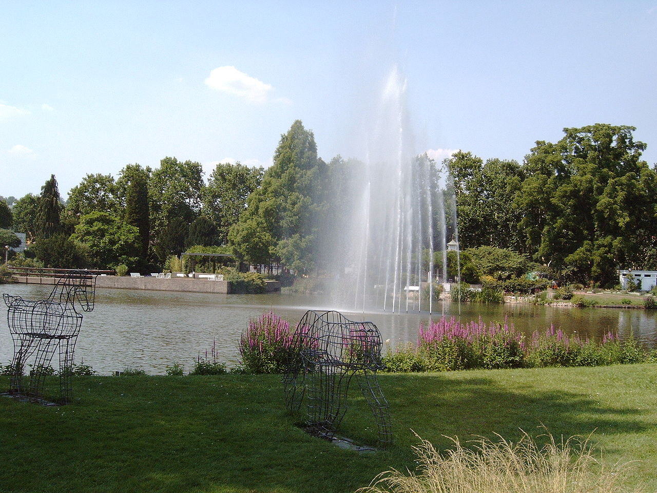 Bild Rosengarten Zweibrücken