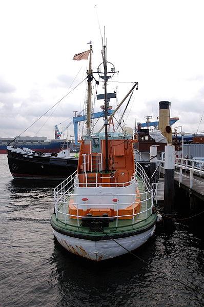 Bild Seenotrettungskreuzer Hindenburg Kiel