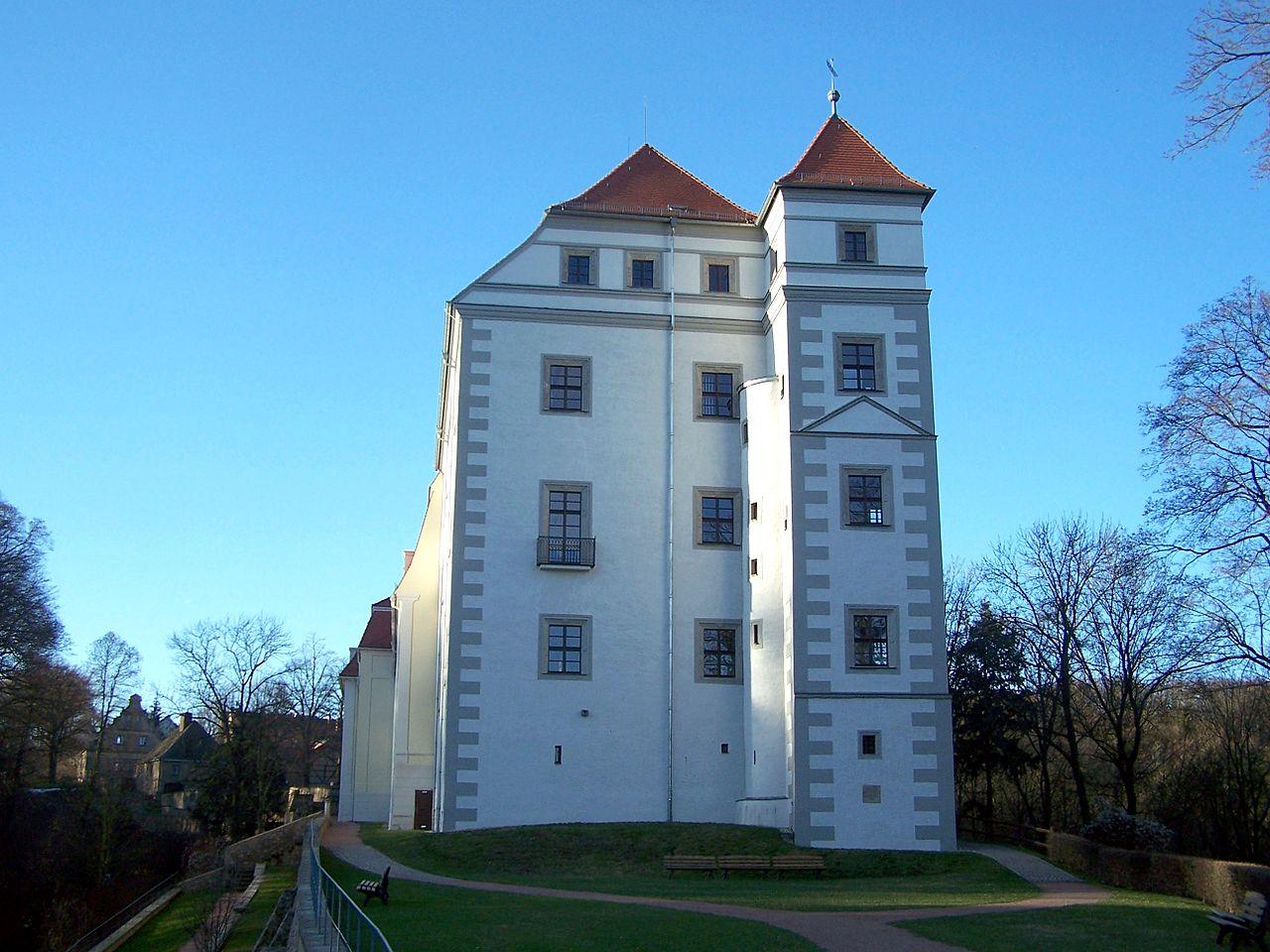 Bild Schloss Siebeneichen Meissen