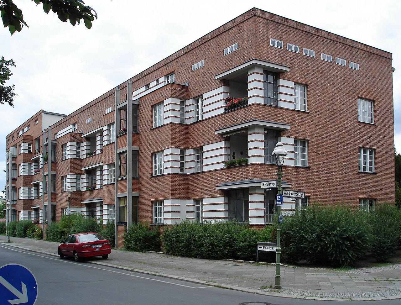 Bild Siedlung Schillerpark Berlin
