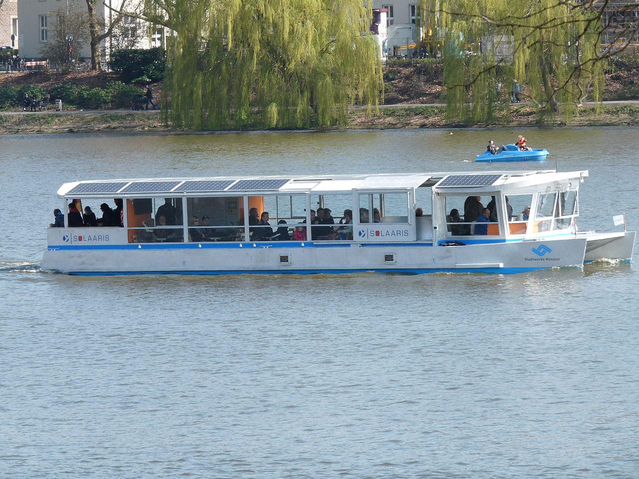 Bild Solarschiff Münster