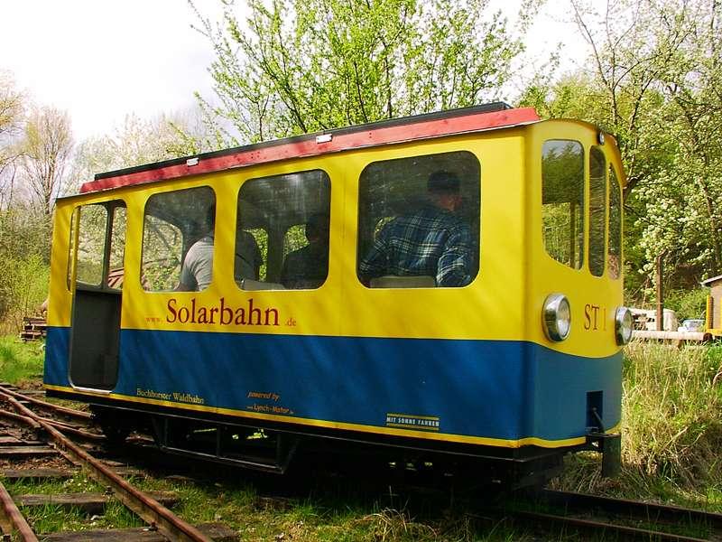Bild Buchhorster Waldbahn