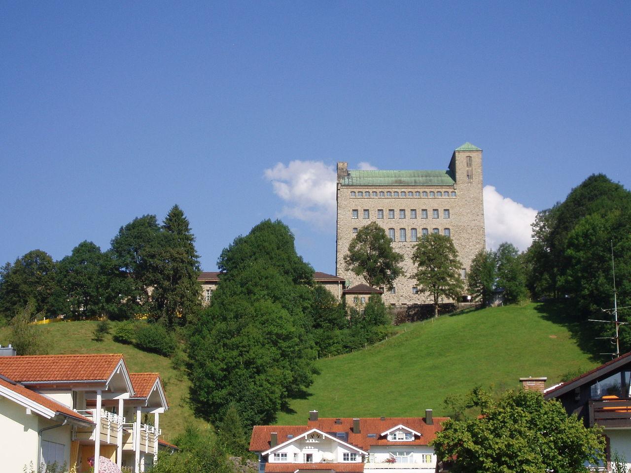 Bild NS Ordensburg Sonthofen
