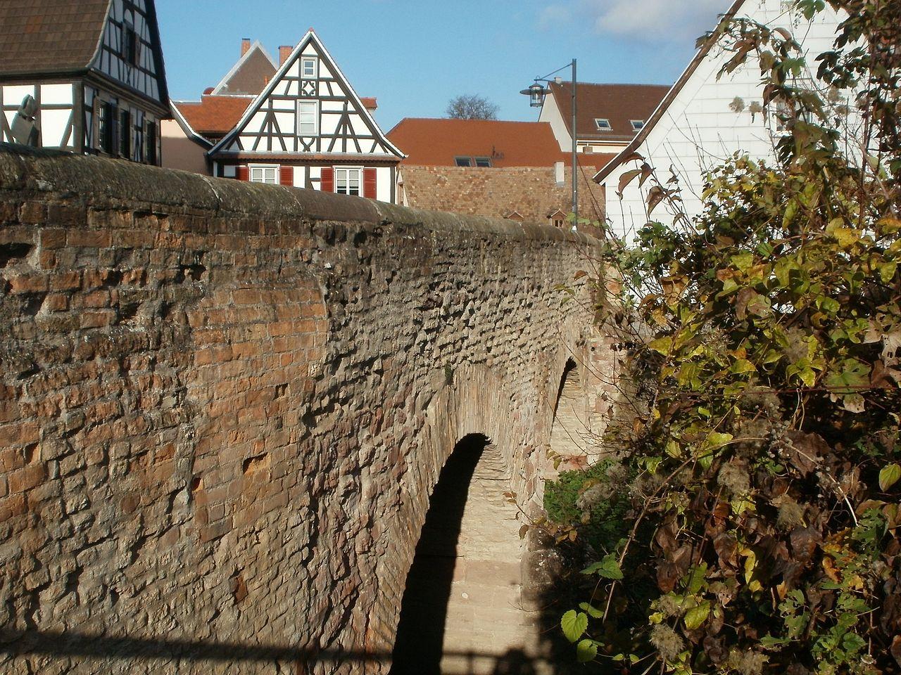 Bild Sonnenbrücke Speyer
