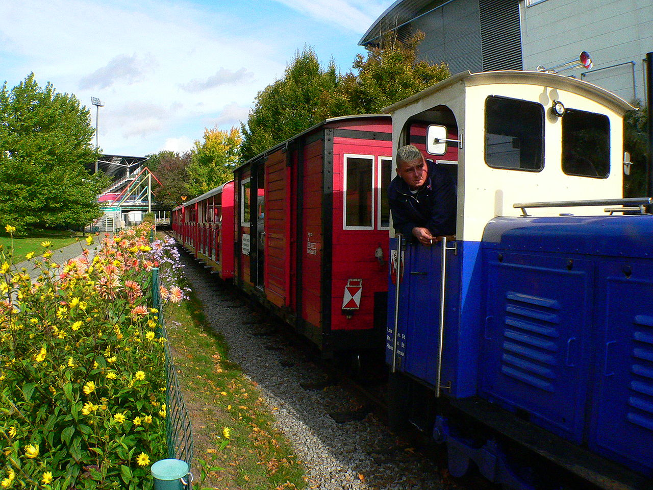 Bild Parkeisenbahn Cottbus