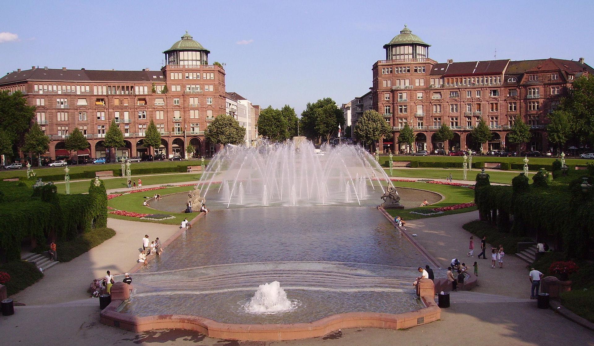 Bild Arkadenbauten Mannheim