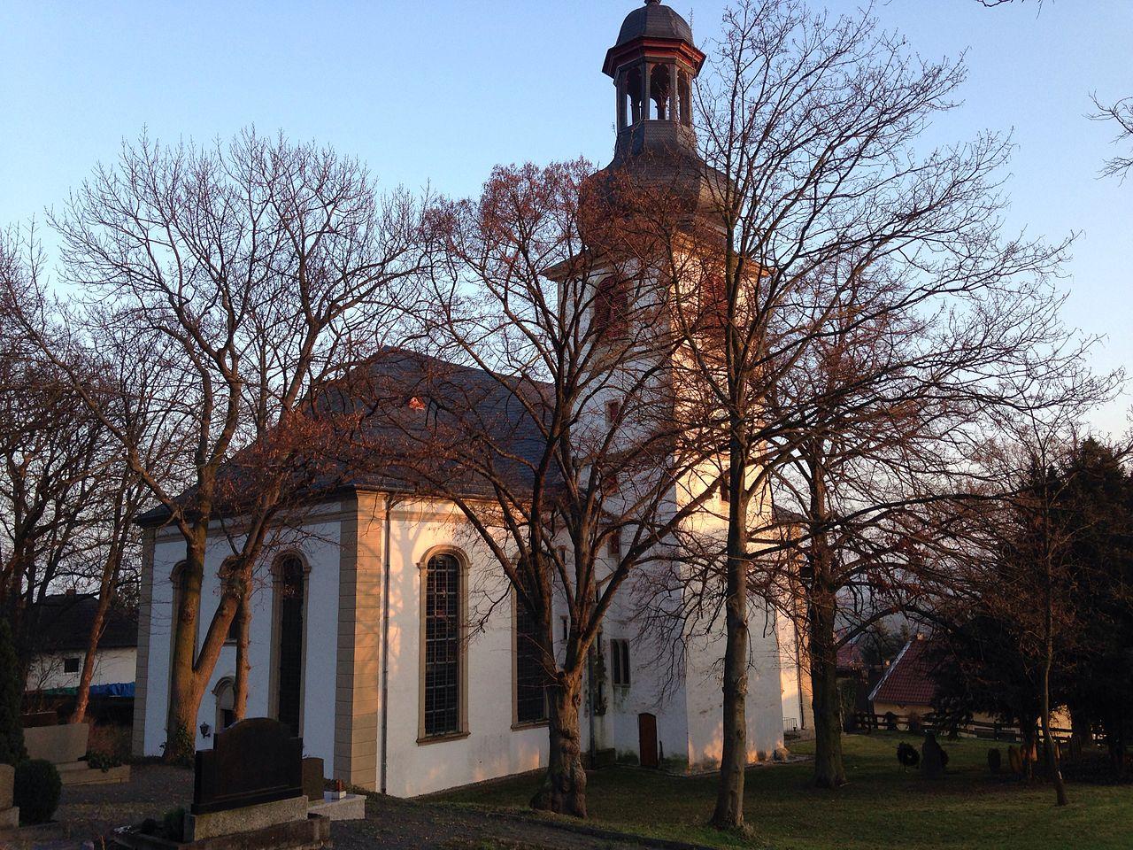 Bild Kirche St. Martin Jugenheim