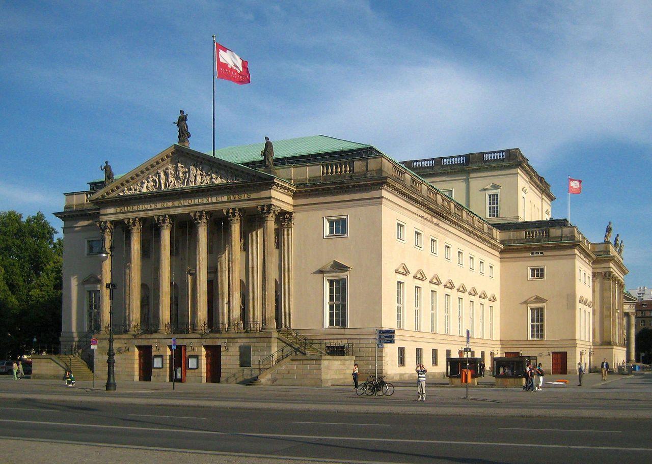 Bild Staatsoper Unter den Linden Berlin