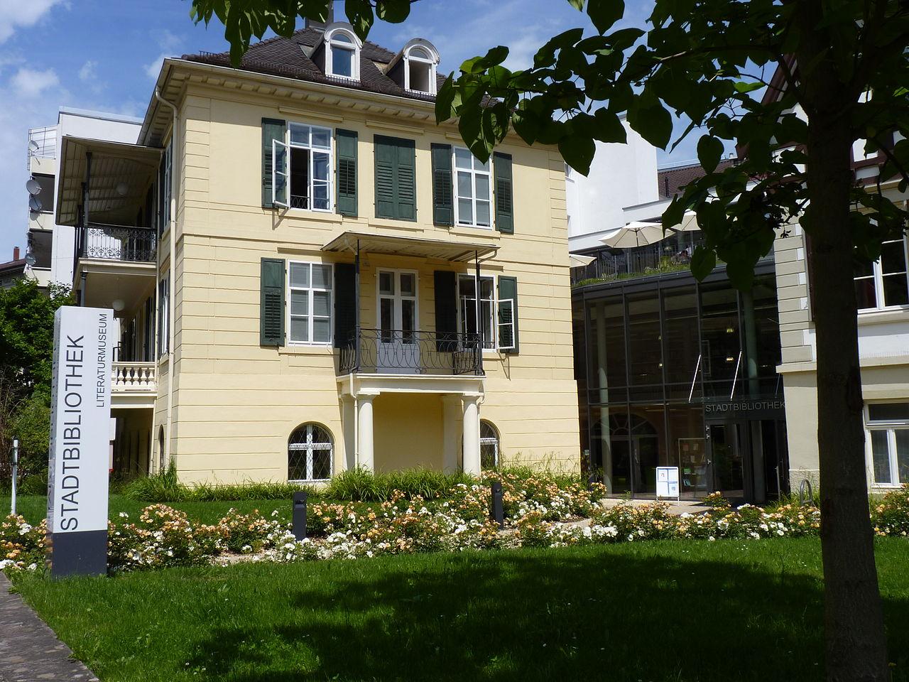 Bild Literaturmuseum im Gartenhaus der Stadtbibliothek Baden Baden