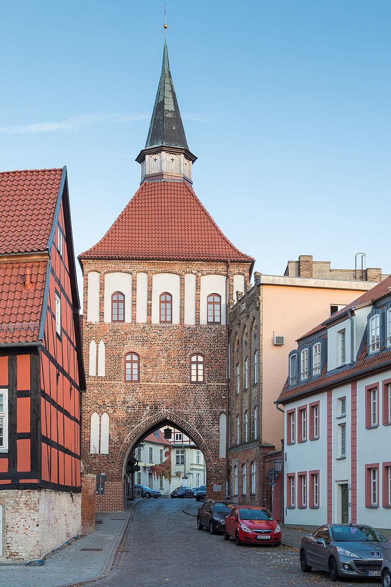 Bild Kütertor Stralsund