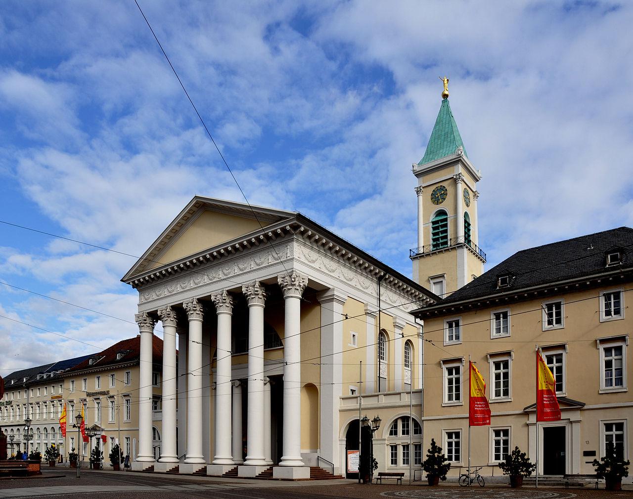 Bild Evangelische Stadtkirche Karlsruhe