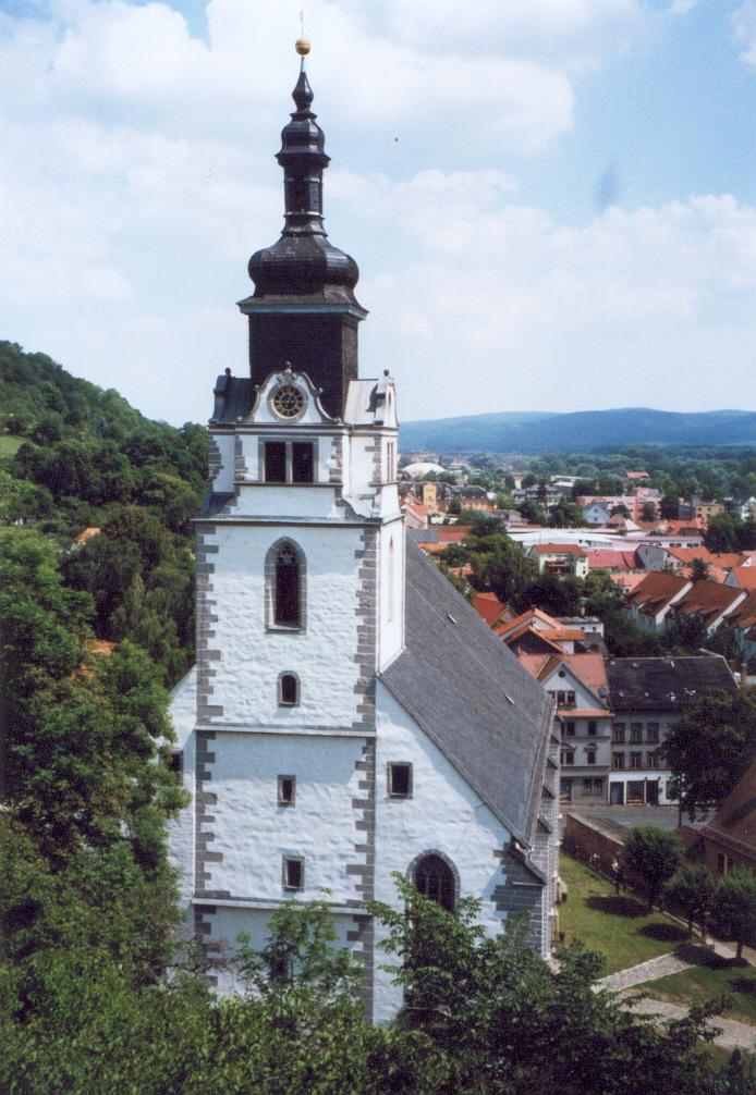 Bild Stadtkirche St. Andreas Rudolstadt