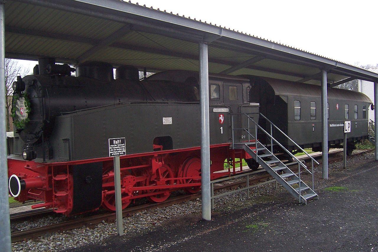 Bild Eisenbahnmuseum Stadtlohn WLE