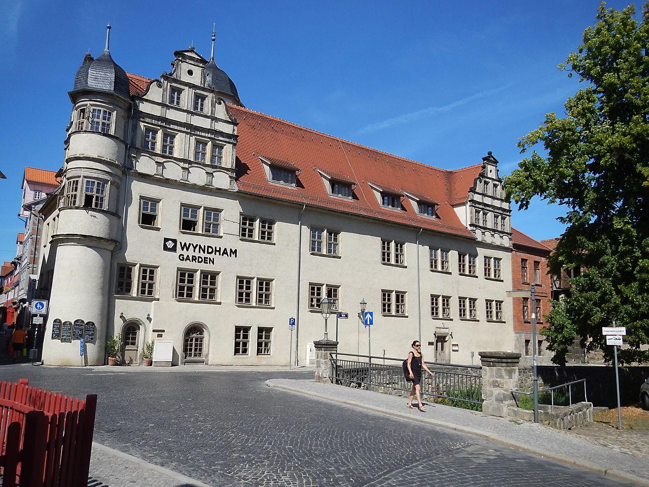 Bild Schloss Quedlinburg