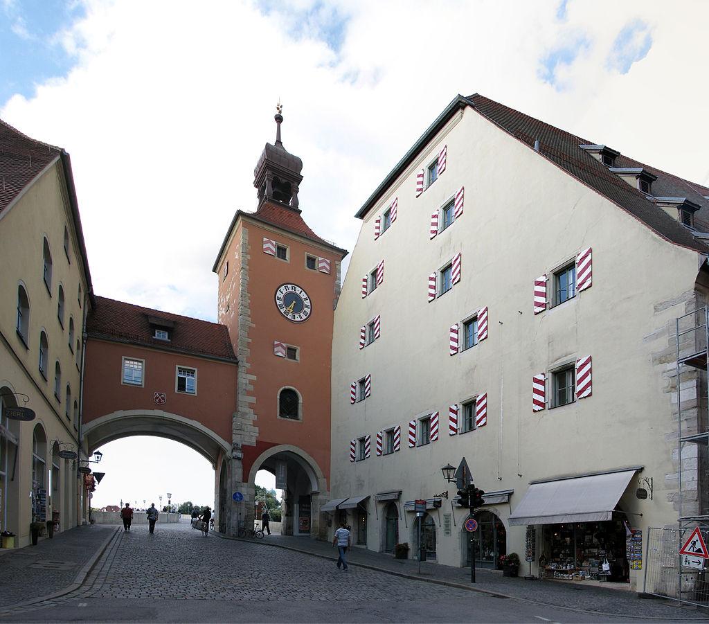 Bild Brücktor Regensburg