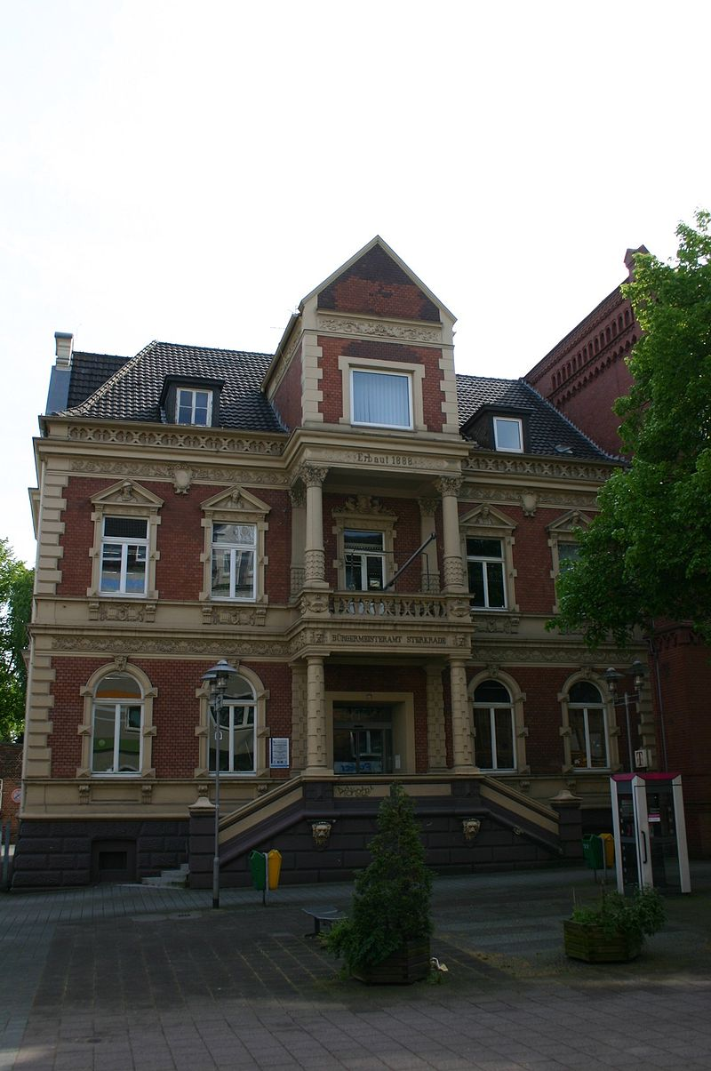 Bild Rathaus Oberhausen Sterkrade