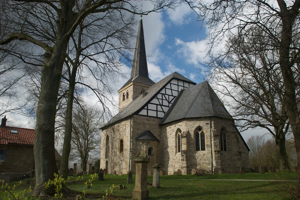Bild Stiepeler Dorfkirche Bochum